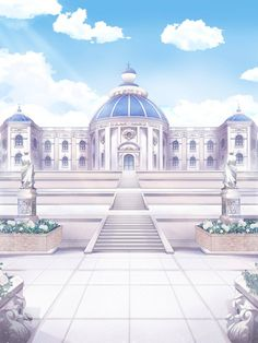 Episode Backgrounds, Anime Backgrounds Wallpapers, Anime Scenery Wallpaper, Cute Wallpapers, Fantasy Art Landscapes, Fantasy Landscape, Casa Anime, Anime Places, Anime City