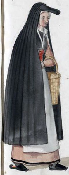 Holland countrywoman by Lucas de Heere, late 16th c. (image source: University of Ghent), logged on Trystan L. Bass awesome website. This is the only other person I have found so far researching these.