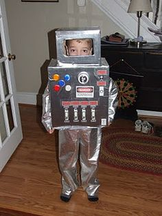 Coolest miss robot costume pinterest robot costumes robot and diy robot costume i will have to do this for my grandson lov him solutioingenieria Gallery