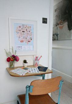 How to create colourful gallery walls with Etsy UK. I show you how to do a Spring refresh of the rooms at home on a limited budget. Kids Workspace, Etsy Uk, Gallery Walls, Kids Room, Interior Design, Interior Ideas, Create, Furniture, Budget