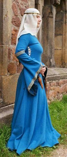 Vestido medieval mujer