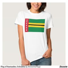 Flag of Santander, Colombia T-shirts