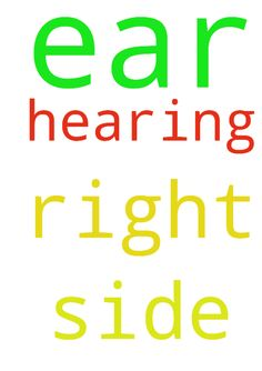 My right side ear is not hearing please - My right side ear is not hearing please pray for my ear Posted at: https://prayerrequest.com/t/R2x #pray #prayer #request #prayerrequest