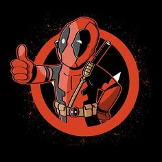 """""""Dead Boy"""" by Soulkr is $10 today at ShirtPunch.com (11/08). #tshirt #Deadpool #WadeWilson #Fallout #Vaultboy #VideoGames #Gaming"""
