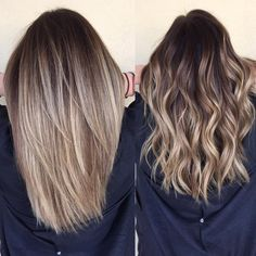 Hair Color Balayage, Ombre Hair Color, Hair Highlights, Bayalage, Hair  Colors,