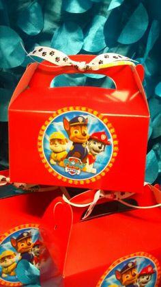 PAW PATROL CANDY BOXES