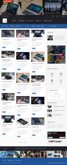 Fusion - WordPress Blog Theme | Wordpress blog themes, Wordpress and ...
