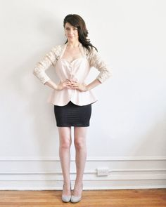 Hey, I found this really awesome Etsy listing at http://www.etsy.com/listing/157197404/pink-lace-sequin-blouse-formal-peplum