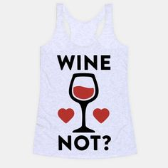 Show off your love of wine with this delicious vino lover's, wine pun shirt! You should probably have another glass of wine, because wine not? | Beautiful Designs on Graphic Tees, Tanks and Long Sleeve Shirts with New Items Every Day. Satisfaction Guaranteed. Easy Returns.