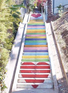 Micheltorena Stairs, Los Angeles, Los Angeles travel, Silverlake, Silverlake restaurants, Silverlake bars, Silverlake shopping, things to do in Silverlake