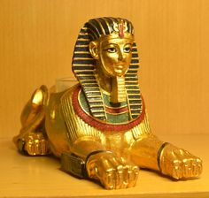 Egyptian Sphinx Figurine //Price: $40.44 & FREE Shipping //     {#ethnic #fashion #style #traditional |#indian #beautiful #unique| #love #shopping | #ethnicwear #etnik |#vintage #dress | #bohochic #indianwear| #art  #hippie |#beauty #fashion | #sale #design |#onlineshopping #accessories | #Indean #Japanese #african
