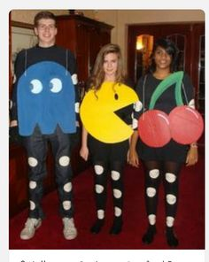 Currently Booming: Style Halloween Costume Ideas: Pac-Man - B-after Meme Costume, Costume Année 80, Pac Man Costume, 80s Halloween Costumes, Hallowen Costume, Cute Costumes, Group Costumes, Halloween 2019, Costume Ideas