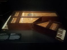 Dutch State Museum (Rijksmuseum) foldable piano