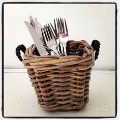 Småkrukor www. Wicker Baskets, Antiques, Tableware, Vases, Kitchen, Fun, Decor, Hampers, Antiquities