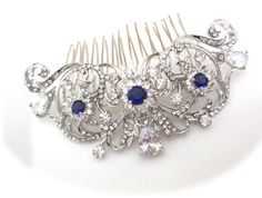 Hey, I found this really awesome Etsy listing at https://www.etsy.com/listing/222452226/brides-hair-comb-teardrop-crystals-hair