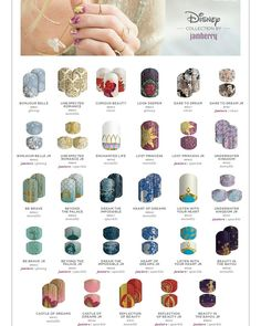 The Disney Collection by Jamberry Volume 5. This volume includes 11 Disney princess themed wraps! #disneyprincessariel #disneyprincessbelle #disneyprincesssnowwhite #disneyprincessrapunzel #disneyprincesstiana #disneyprincessmerida #disneyprincesspocahontas #disneyprincessmulan #disneyprincesscinderella #disneyprincessjasmine  #disneycollectionbyjamberry #disneynails  Whitneyjm.jamberry.com get your perfect Disney themed manicure.
