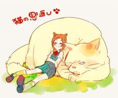 the cat returns, haru yoshioka, muta