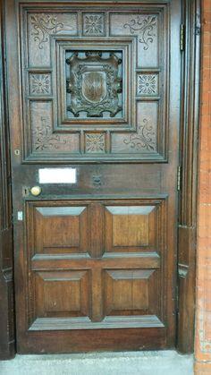 Front door to loughton Hall