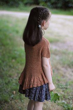 Ravelry: Frou Frou Tee pattern by Ekaterina Filippova-Blanchard