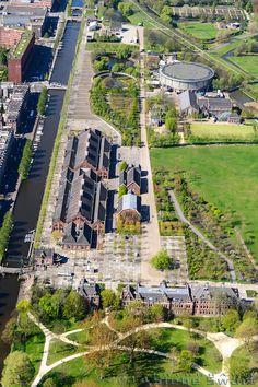Westergasfabriek 1885/ rehabilitación por Mecanoo 2003/ Amsterdam