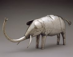 Silver Elephant, 19th century Republic of Benin; Fon. Fon silver works such as this silver elephant served as objects of power and prestige owned by a ruler of the Fon kingdom of Dahomey in the present-day Republic of Benin.