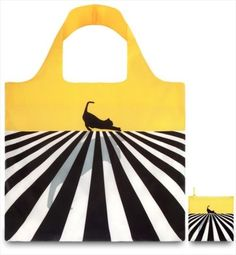 LOQI Eco Reusable Shopping Shopper Tote Bag - folds into pouch - POP Cat | eBay