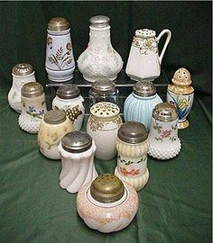 Sugar Shaker Antique American Glass Factory B Circa 1891
