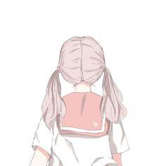 Avatar Couple 🌺💜 - [ not ulzzang ] 😛 - Wattpad Chica Anime Manga, Anime Chibi, Kawaii Anime, Anime Art Girl, Manga Girl, Anime High School, Couple Wallpaper, Fanarts Anime, Avatar Couple