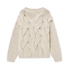 Tröja Edell, beige Beige, Sweaters, Christmas, Fashion, Xmas, Moda, Fashion Styles, Sweater, Navidad