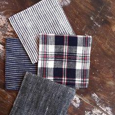 Coasters: Linen Denim – Shop Fog Linen