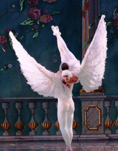 Moscow Ballet's beautiful Dove of Peace - only seen in the Great Russian Nutcracker. www.nutcracker.com