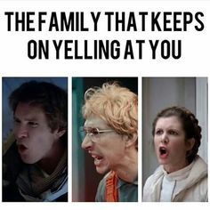 it's funny because, somehow, the solos are on here, not my family, but, okay.
