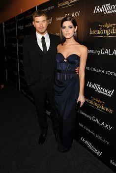 Ashley Greene and Kellan Lutz