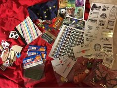 Free: HUGE Lot of Craft Supplies! Blow Fish, Butterfly, Stickers, Tags, Daubers, Mini Notebook AND MORE!! - Stickers - Listia.com Auctions for Free Stuff