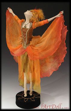 """""""The interior of the wind"""" doll collection - Gallery of art dolls by Lada Konstantinova - l'Art Doll"""