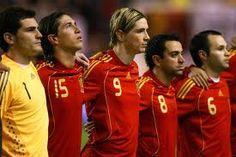 La Furia Roja. Viva Espana!