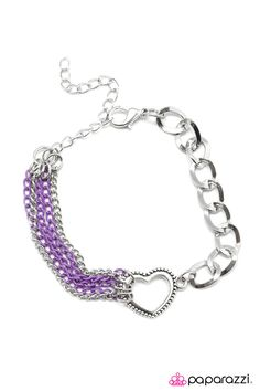 Debs Jewelry Shop - Paparazzi Bracelet - First Date - Purple, $5.00 (http://www.debsjewelryshop.com/paparazzi-bracelet-first-date-purple/)