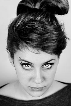 Beatrice  #portrait #eyes #black #white #photo #beatrice #mine #work #passion #popular