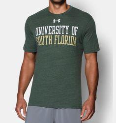 Men's South Florida UA Tri-Blend T-Shirt | Under Armour US