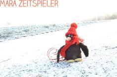 Erwin im Schnee.
