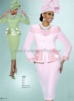 Skirt Suits for Church by Susanna - www.ExpressURWay.com - Skirt Suits for…