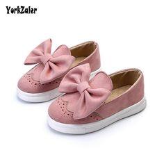 Yorkzaler Bowknot Transpirable Zapatos de Los Niños 2018 Nueva Moda de  Primavera y Otoño Niños Zapatillas c35d651a8310