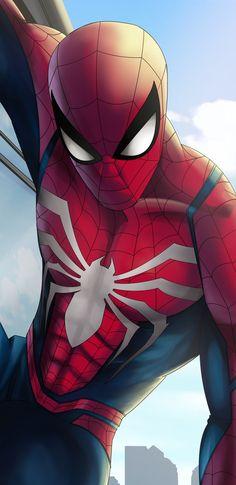 Comic Book Characters, Comic Books Art, Comic Art, Fictional Characters, Spiderman Drawing, Spiderman Art, Spectacular Spider Man, Amazing Spider, Marvel Cartoons