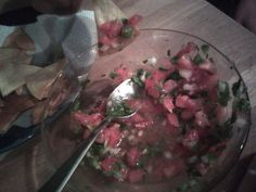 nothing better than my homemade chips and salsa :)
