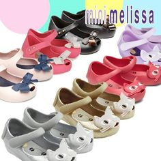 Buy [Melissa] Mini Melissa shoes/ Ultragirl Cat/ Ultragirl Bow ... Obsessed over the #gold #cats! Loved them at #atlantamarket
