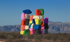 Information and tools to maximize your visit to Seven Magic Mountains.