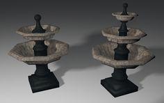 Pick of the day: Medium octagonal fountain set - W3DC