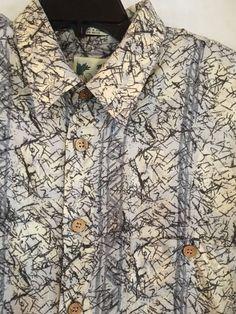 ME Sport Men's Shirt Size XL SS Geometric Print  #MESport #Geometric