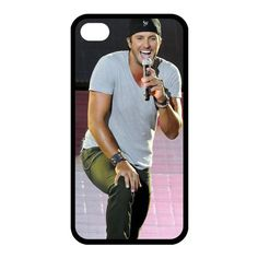Luke Bryan Custom Case for iPhone 4/4s Hard Cover by CustomFactory, $12.99