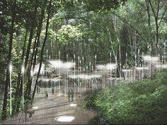 Here's what the environmentally-friendly cemetery of the future could look like